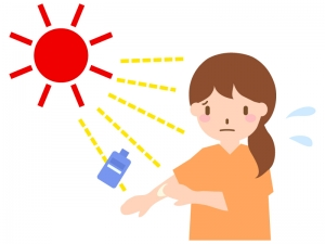 紫外線に注意!!