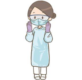 PPE装着の練習!!